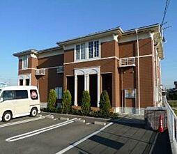 福岡県遠賀郡遠賀町大字別府の賃貸アパートの外観
