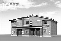福岡県北九州市若松区白山2丁目の賃貸アパートの外観
