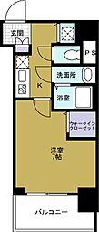 セオリー大阪ベイステージ[10階]の間取り
