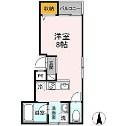 delight富田町[2階]の間取り