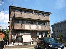 愛知県名古屋市中川区長須賀2の賃貸アパートの外観