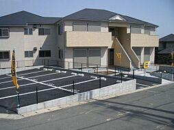 福岡県遠賀郡岡垣町松ケ台4丁目の賃貸アパートの外観