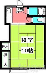 歩行町 三井マンション[331号室]の間取り
