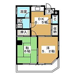 下田ビル[5階]の間取り