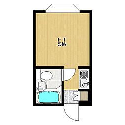 駒沢パークテラス[2階]の間取り