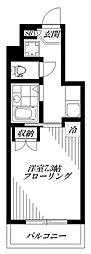 namsa東中野[3階]の間取り