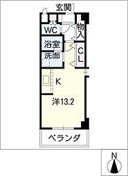 Lieto Noda[3階]の間取り