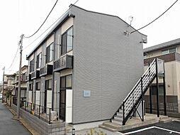 千葉県松戸市八ヶ崎7丁目の賃貸アパートの外観