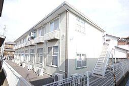 埼玉県越谷市大沢3の賃貸アパートの外観