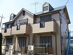 茨城県守谷市松前台2丁目の賃貸アパートの外観