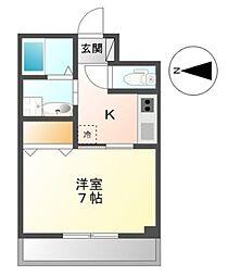 東京都大田区下丸子3丁目の賃貸マンションの間取り