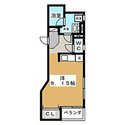 スペース テン[3階]の間取り