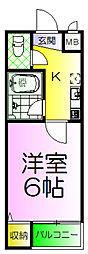 パレロイヤル堺[5階]の間取り