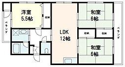 K・B・M井口台[5階]の間取り