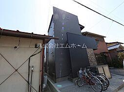 愛知県名古屋市西区歌里町の賃貸アパートの外観