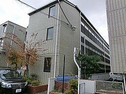 大阪府高槻市土室町の賃貸マンションの外観
