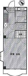 ソフィア青木葉5[2階]の間取り