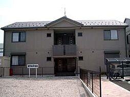 滋賀県東近江市東中野町の賃貸アパートの外観