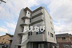 岡山県岡山市北区今4丁目の賃貸マンションの外観