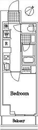 ザ・レジデンス・オブ・トーキョーC18[7階]の間取り