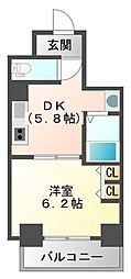 第15関根マンション[5階]の間取り