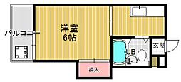 プレアール七隈[2階]の間取り