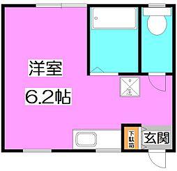 東京都練馬区大泉学園町4丁目の賃貸アパートの間取り