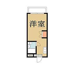メゾン朋泉II[205号室]の間取り
