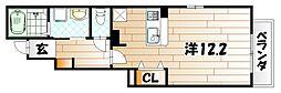 サンガーデン戸畑[1階]の間取り