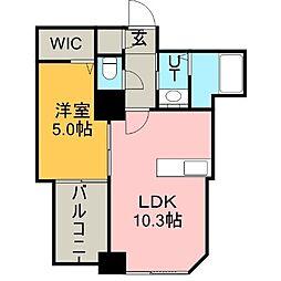 S−FORT北大前(旧:サムティ 北大前)[3階]の間取り