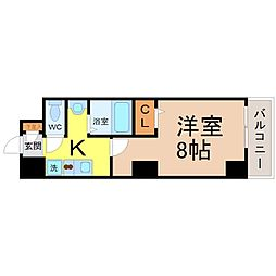 YMC葵[2階]の間取り