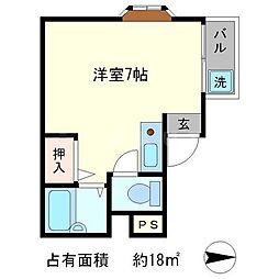 ラ・カシータ[2階]の間取り