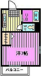 エトワール東浦和[3階]の間取り