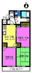 第8池田マンション[3階]の間取り