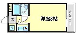 ニューヒル高塚[2階]の間取り