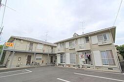 埼玉県久喜市上町の賃貸アパートの外観