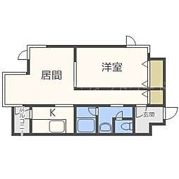 藤井ビル裏参道[4階]の間取り