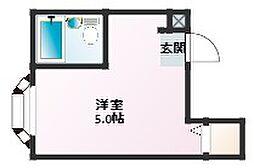 豊静ビル[3階]の間取り