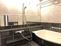 浴室も広々で1日の疲れが取れます