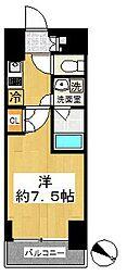 ルーブル中板橋弐番館[4階]の間取り