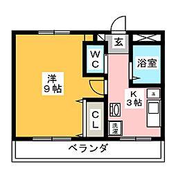 Mansion Ishikawa[1階]の間取り