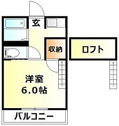 庭瀬駅 2.6万円
