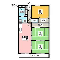 サクセス96[2階]の間取り