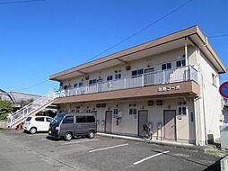 田野コーポ[201号室]の外観