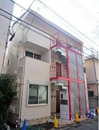 東京都目黒区五本木3丁目の賃貸アパートの外観