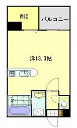 広島県広島市西区庚午中3丁目の賃貸マンションの間取り