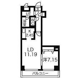Square Ms(スクエアマンション)614[10階]の間取り