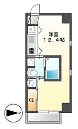 ラ・シュシュ覚王山[4階]の間取り