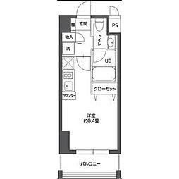 レジディア栄[11階]の間取り