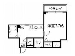 シェークル21[4階]の間取り